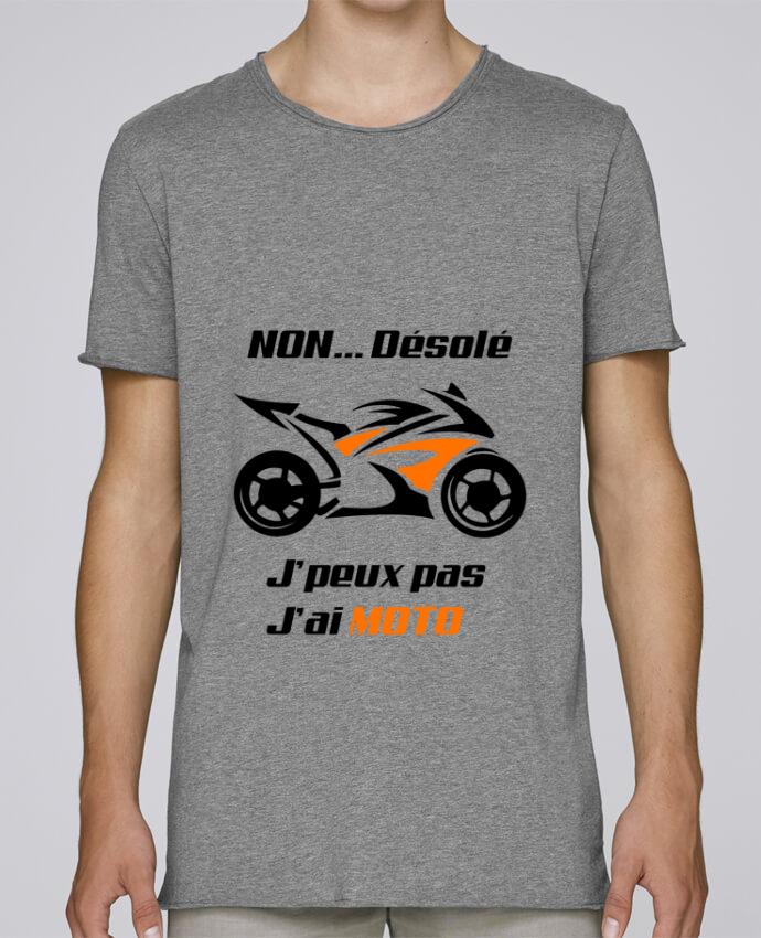 T-shirt Homme Oversized Stanley Skates J'peux pas j'ai moto par MotorWave's