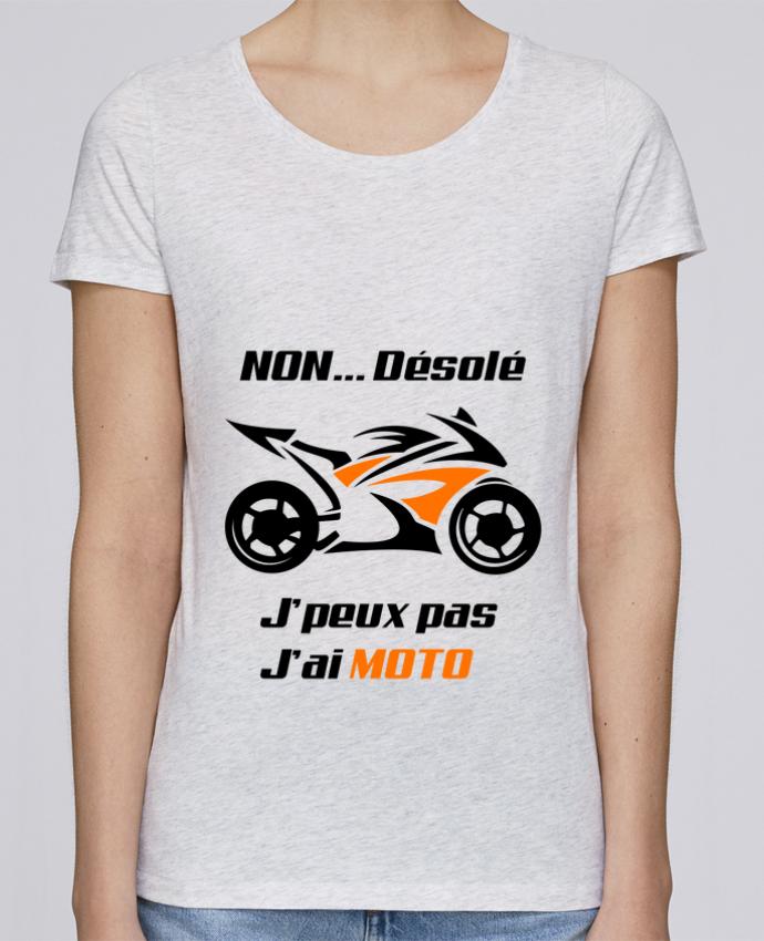 T-shirt Femme Stella Loves J'peux pas j'ai moto par MotorWave's