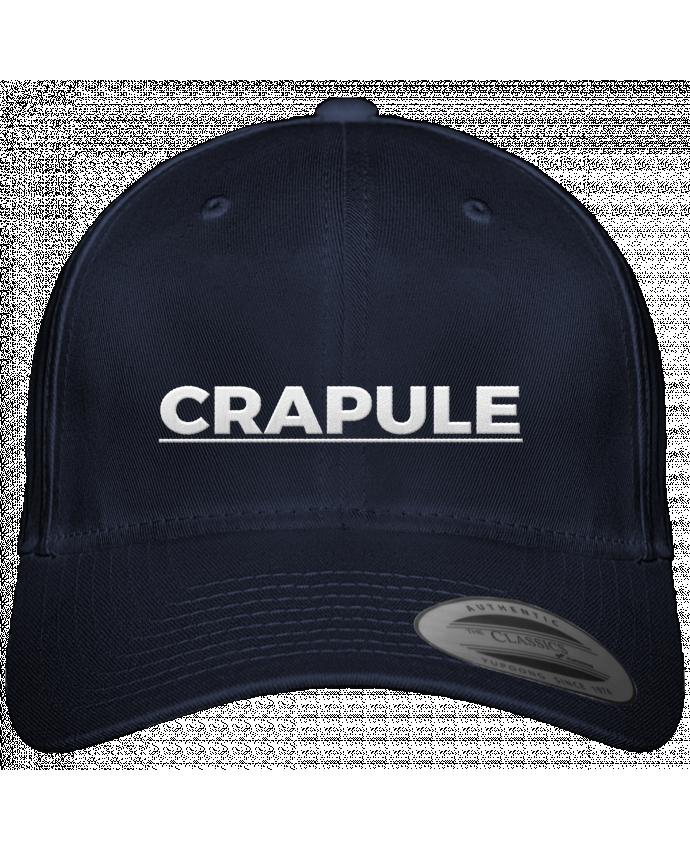 Casquette Flexfit 6 panneau Crapule par tunetoo