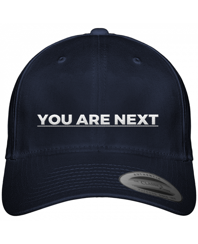 Casquette Flexfit 6 panneau You are next par tunetoo