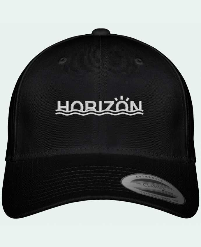 Casquette Flexfit 6 panneau Horizon par tunetoo