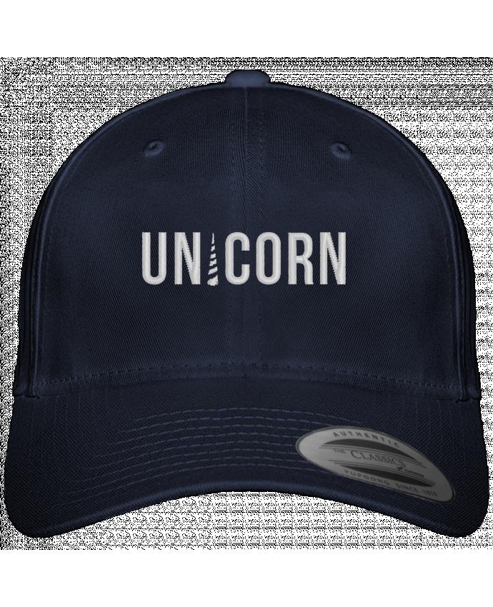 Casquette Flexfit 6 panneau Unicorn par tunetoo