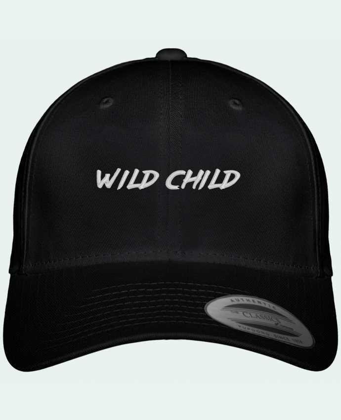 Casquette Flexfit 6 panneau Wild Child par tunetoo