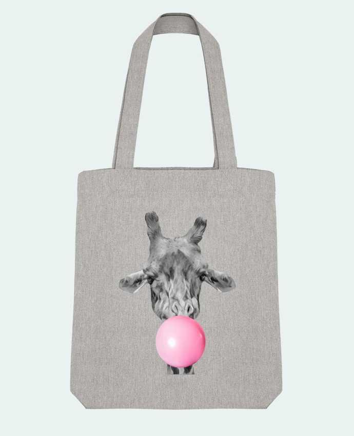 Tote Bag Stanley Stella Girafe bulle par justsayin
