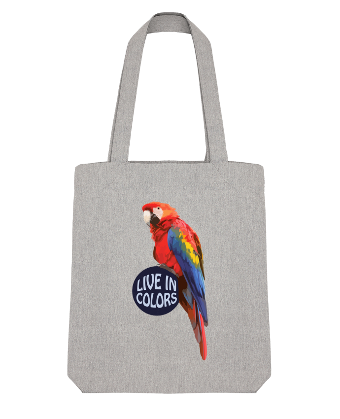 Tote Bag Stanley Stella Perroquet - Live in colors par justsayin