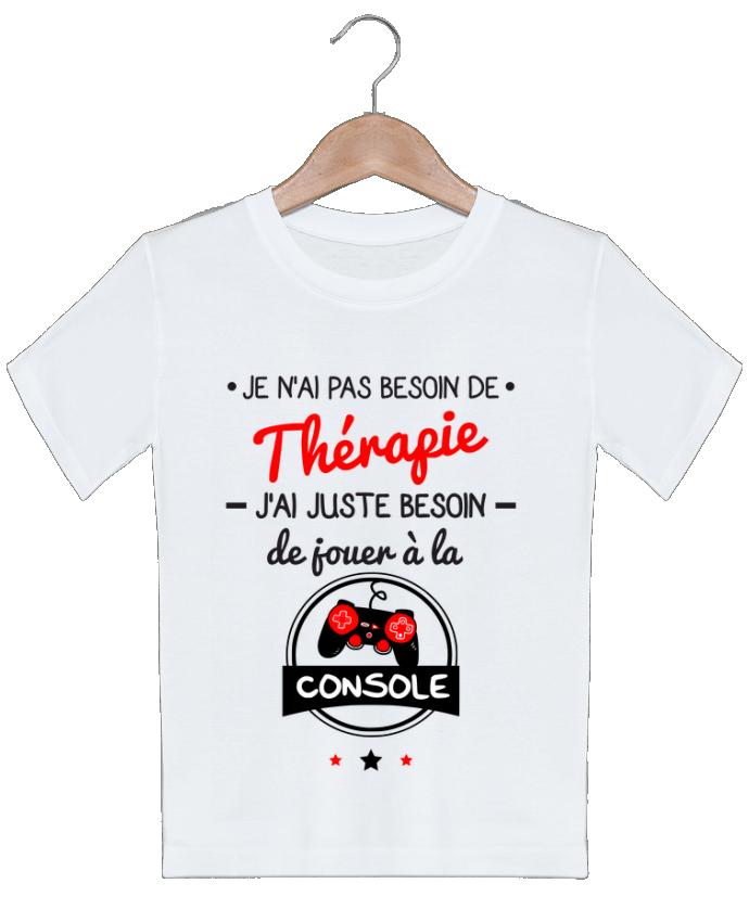 T-shirt garçon motif Tee shirt marrant pour geek,gamer : Je n'ai pas besoin de thérapie, j'ai just