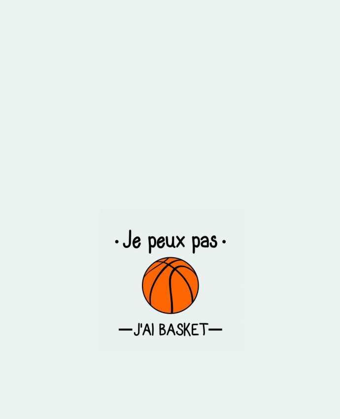 Sac en Toile Coton Je peux pas j'ai basket,basketball,basket-ball par Benichan