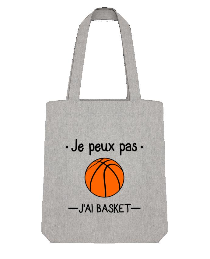 Tote Bag Stanley Stella Je peux pas j'ai basket,basketball,basket-ball par Benichan