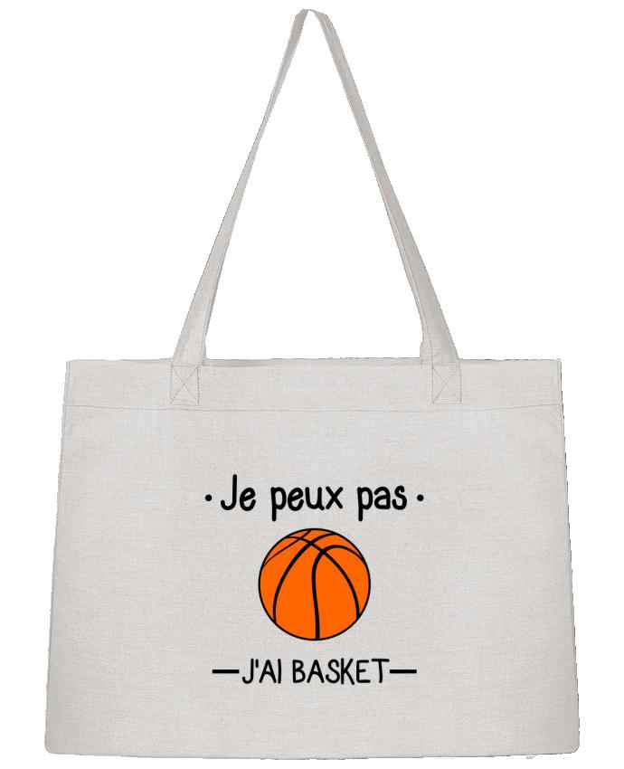 Sac Cabas Shopping Stanley Stella Je peux pas j'ai basket,basketball,basket-ball par Benichan