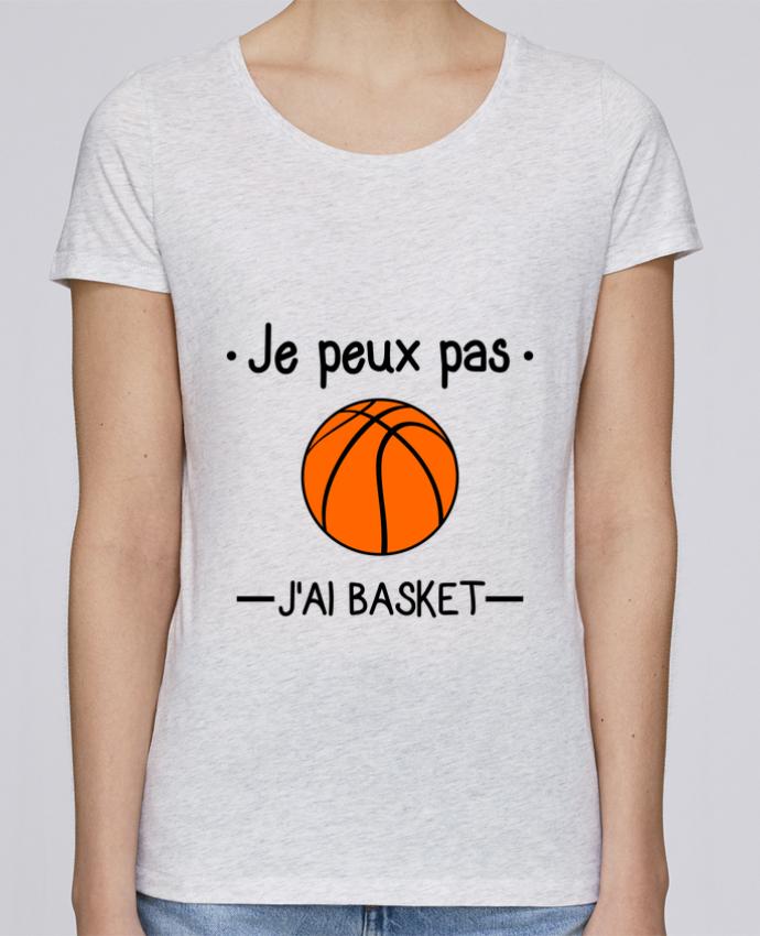 T-shirt Femme Stella Loves Je peux pas j'ai basket,basketball,basket-ball par Benichan