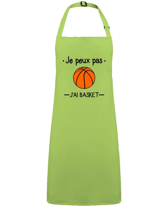 Tablier Sans Poche Je peux pas j'ai basket,basketball,basket-ball par  Benichan