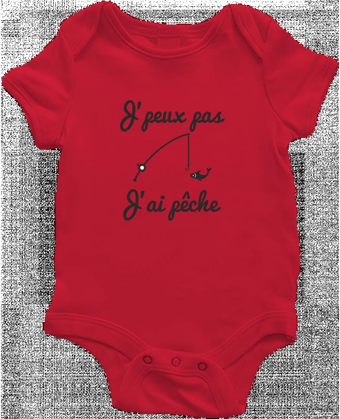 Body Bébé J'peux pas j'ai pêche,tee shirt pécheur,pêcheur par Benichan