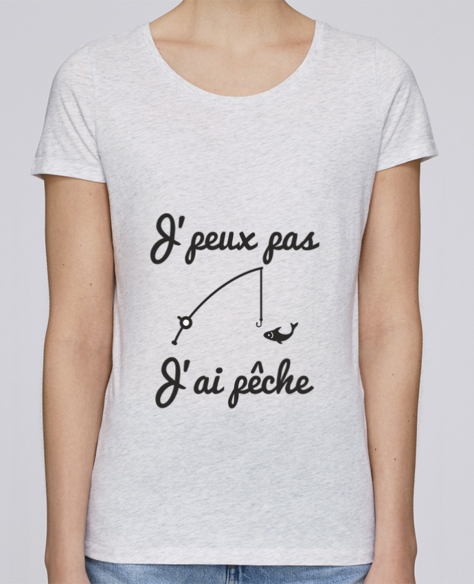 T-shirt Femme Stella Loves J'peux pas j'ai pêche,tee shirt pécheur,pêcheur par Benichan
