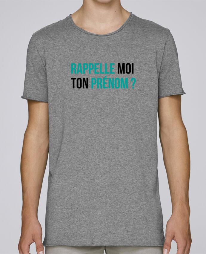 T-shirt Homme Oversized Stanley Skates Rappelle moi ton prénom ? par tunetoo