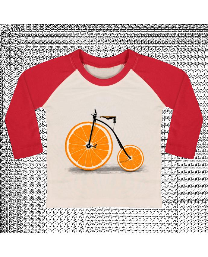 T-shirt Bébé Baseball Manches Longues Vitamin par Florent Bodart