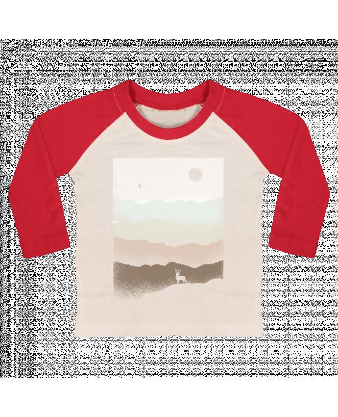 T-shirt Bébé Baseball Manches Longues Quietude par Florent Bodart