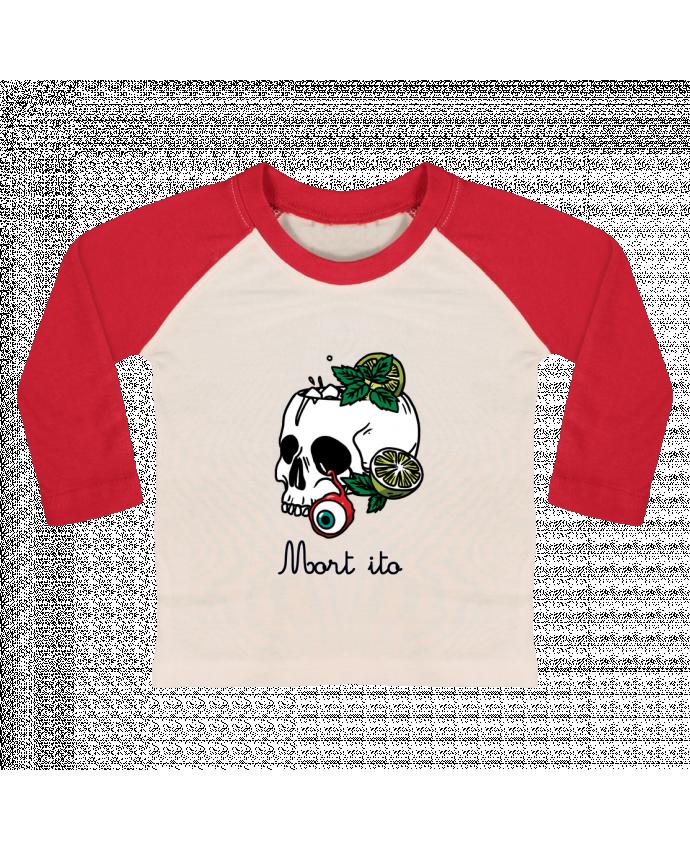 T-shirt Bébé Baseball Manches Longues Mort ito par tattooanshort