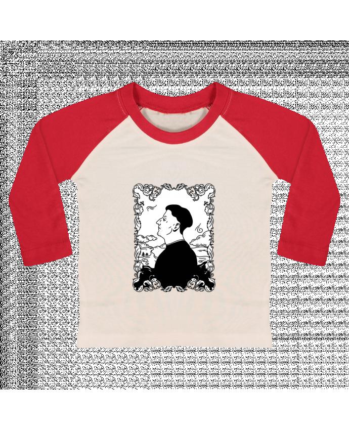 T-shirt Bébé Baseball Manches Longues Godefroy de montmirail par tattooanshort