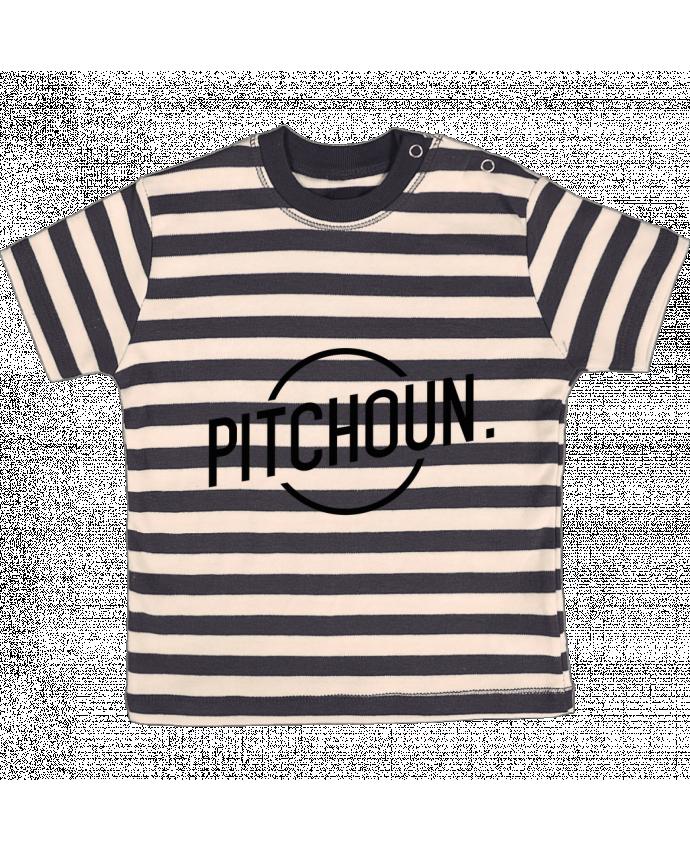T-shirt Bébé à Rayures Pitchoun par tunetoo