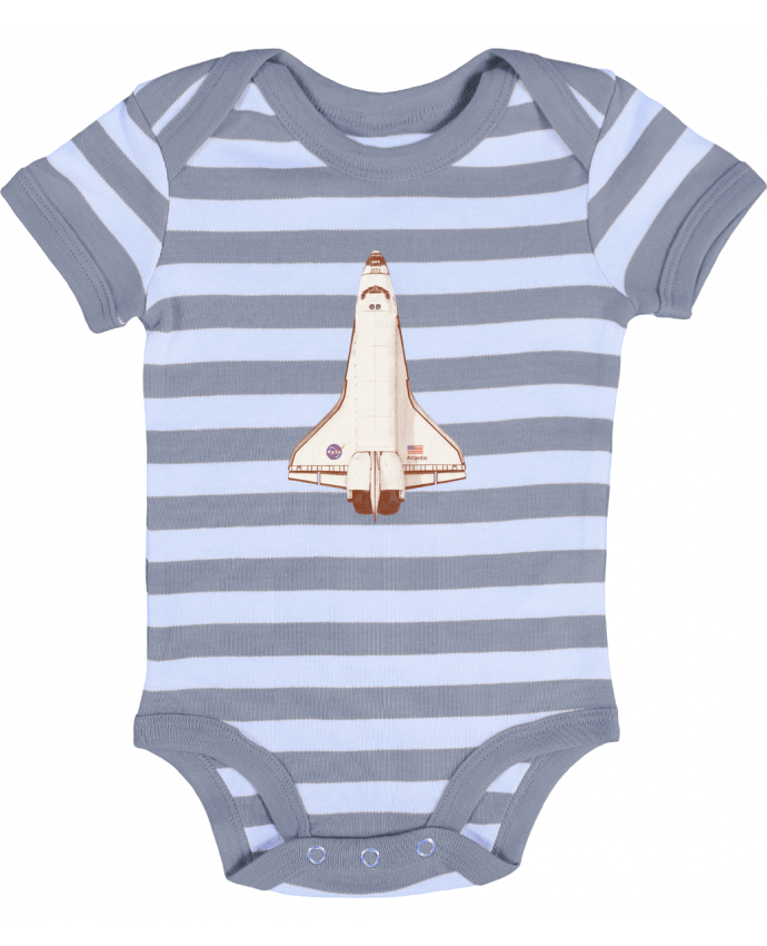 Body Bébé à Rayures Atlantis S6 - Florent Bodart