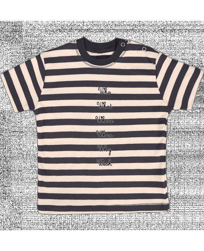 T-shirt Bébé à Rayures 5W par tattooanshort