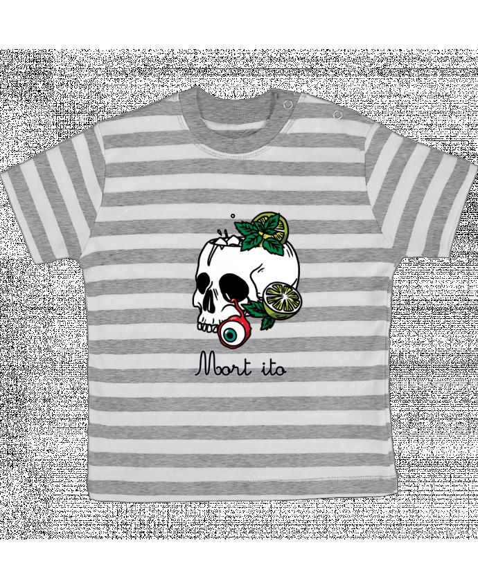T-shirt Bébé à Rayures Mort ito par tattooanshort
