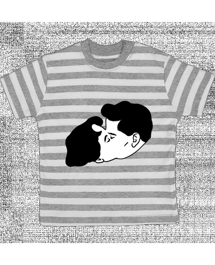T-shirt Bébé à Rayures Fusion par tattooanshort