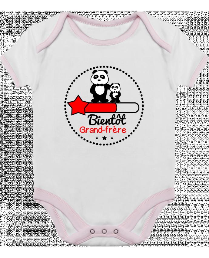 Body Bébé Contrasté Bientôt grand-frère , futur grand frère par Benichan