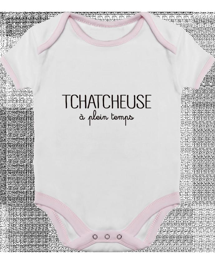 Body Bébé Contrasté Tchatcheuse à plein temps par Freeyourshirt.com