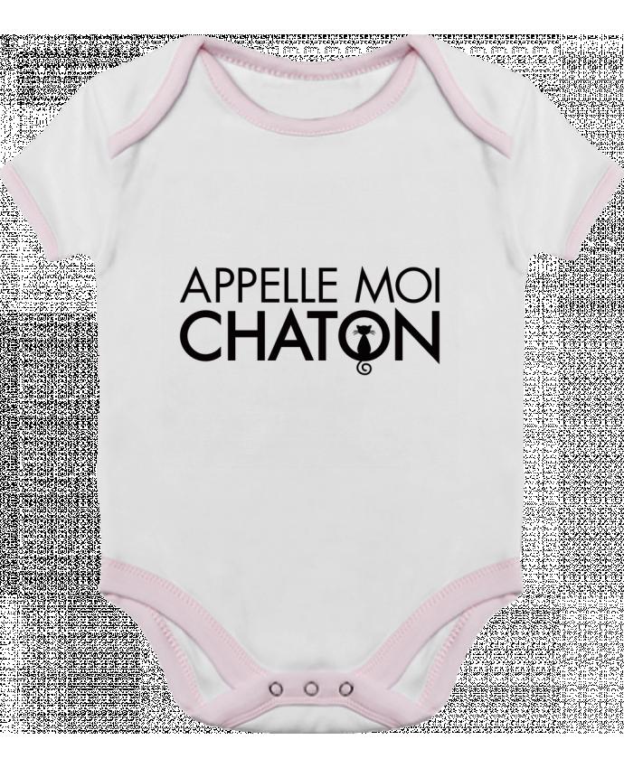Body Bébé Contrasté Appelle moi Chaton par Freeyourshirt.com