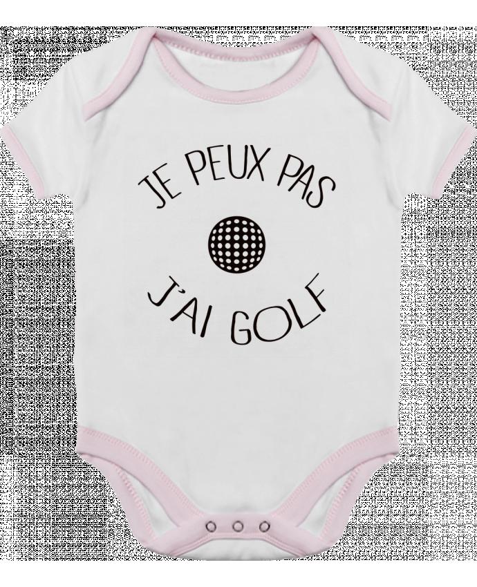 Body Bébé Contrasté Je peux pas j'ai golf par Freeyourshirt.com