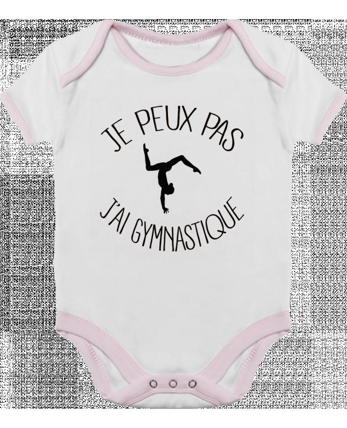 Body Bébé Contrasté Je peux pas j'ai gymnastique par Freeyourshirt.com