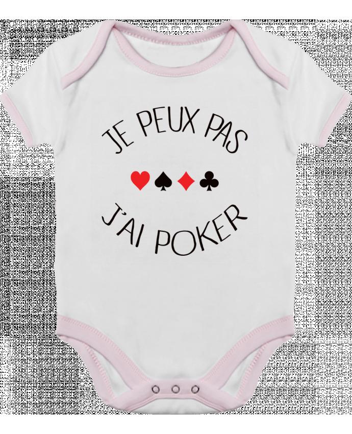 Body Bébé Contrasté Je peux pas j'ai Poker par Freeyourshirt.com