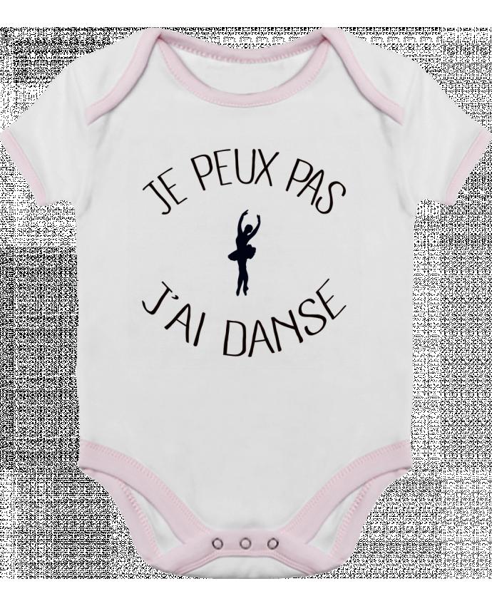 Body Bébé Contrasté Je peux pas j'ai Danse par Freeyourshirt.com