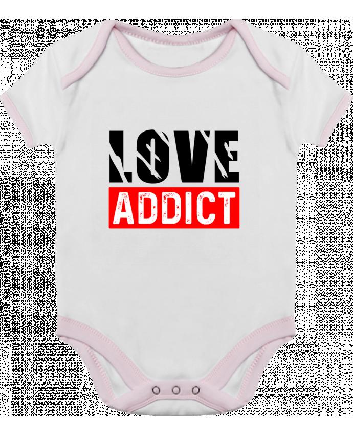 Body Bébé Contrasté Love Addict par Sole Tshirt