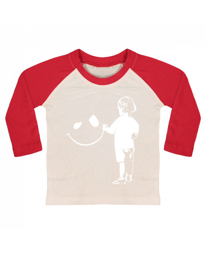 Tee-shirt Bébé Baseball ML enfant par Graff4Art