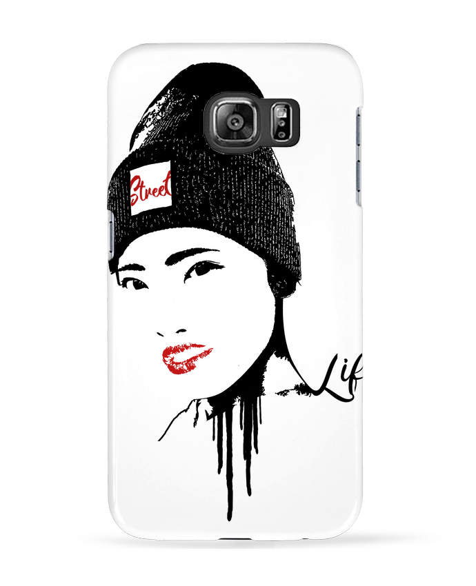 Coque 3D Samsung Galaxy S6 Geisha - Graff4Art