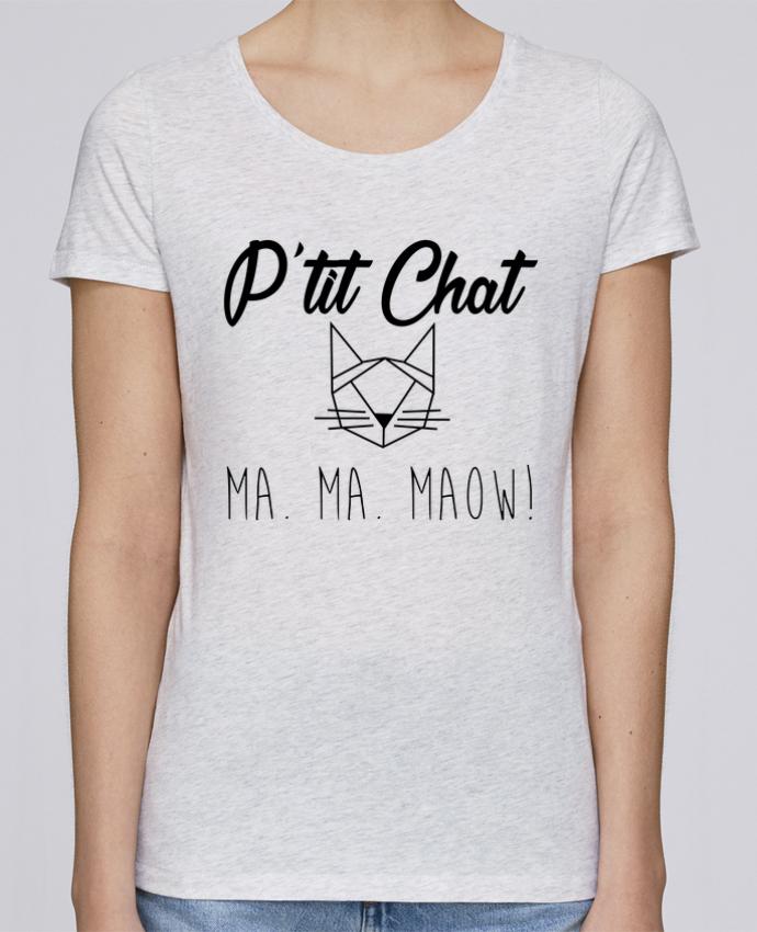 T-shirt Femme Stella Loves p'tit chat par zdav