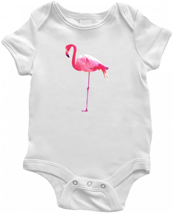 Body Bébé Flamant rose par justsayin