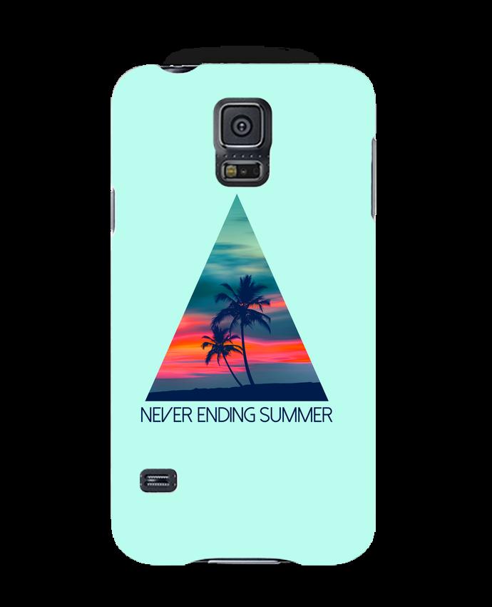 Coque 3D Samsung Galaxy S5 Never ending summer par justsayin