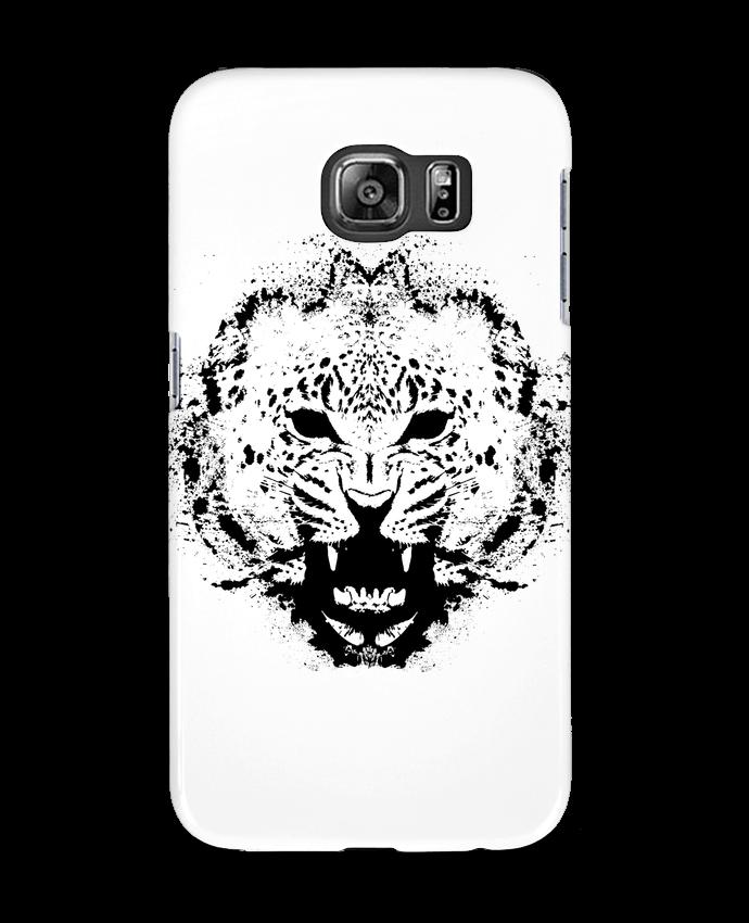 Coque 3D Samsung Galaxy S6 leopard - Graff4Art