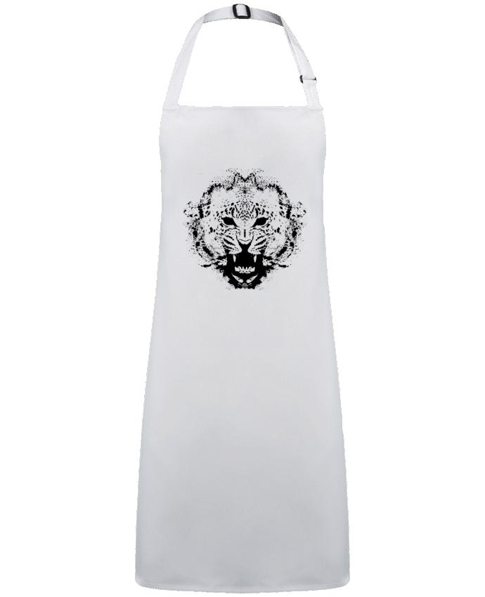 Tablier Sans Poche leopard par  Graff4Art