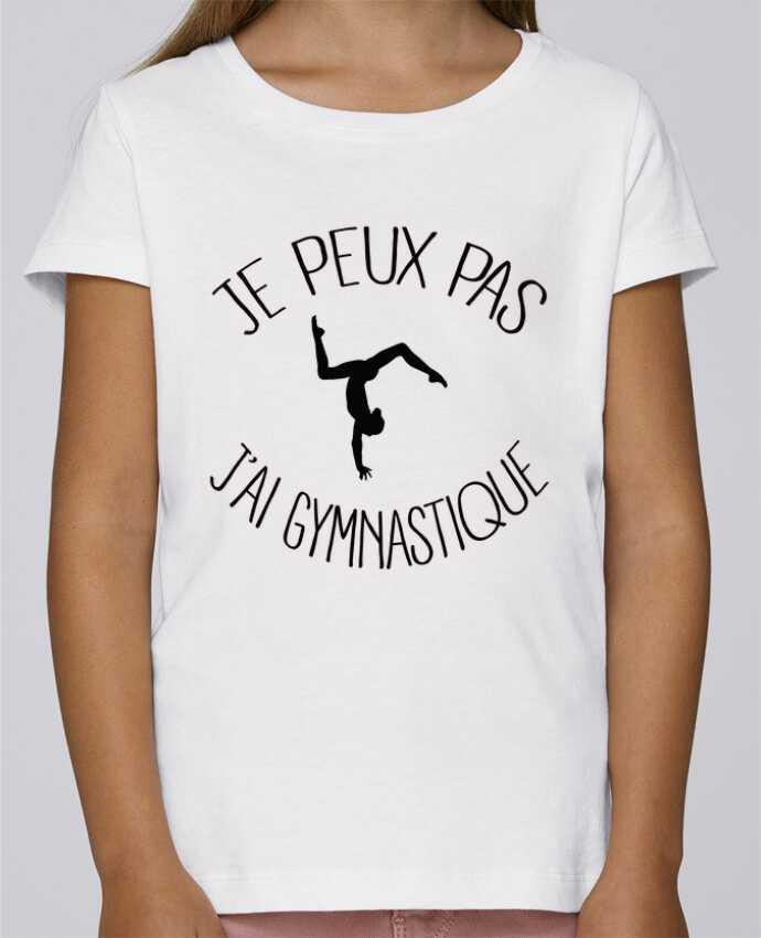 T-shirt Fille Mini Stella Draws Je peux pas j'ai gymnastique par Freeyourshirt.com