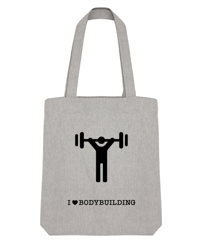 Tote Bag Stanley Stella I love bodybuilding par will