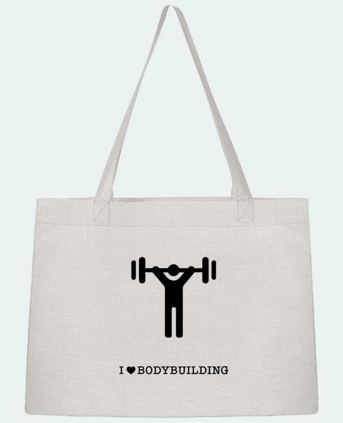 Sac Cabas Shopping Stanley Stella I love bodybuilding par will