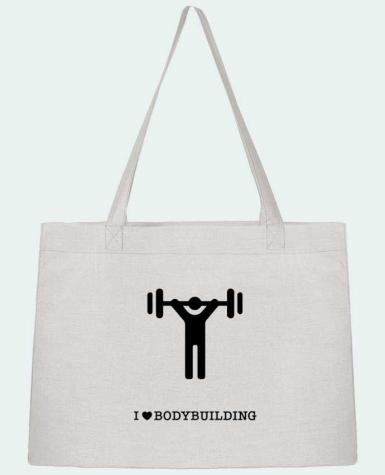 Sac Cabas Shopping Stanley Stella I love bodybuilding par will