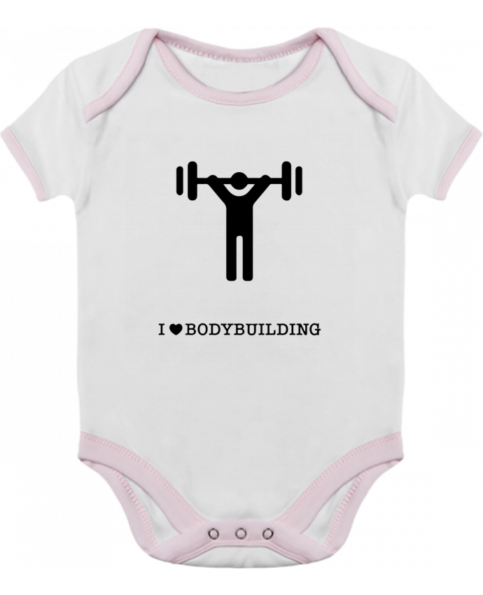 Body Bébé Contrasté I love bodybuilding par will