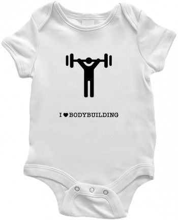 Body Bébé I love bodybuilding par will
