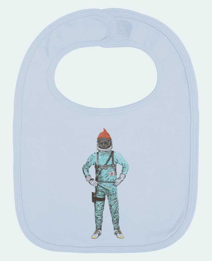 Bavoir Uni et Contrasté Zissou in space par Florent Bodart