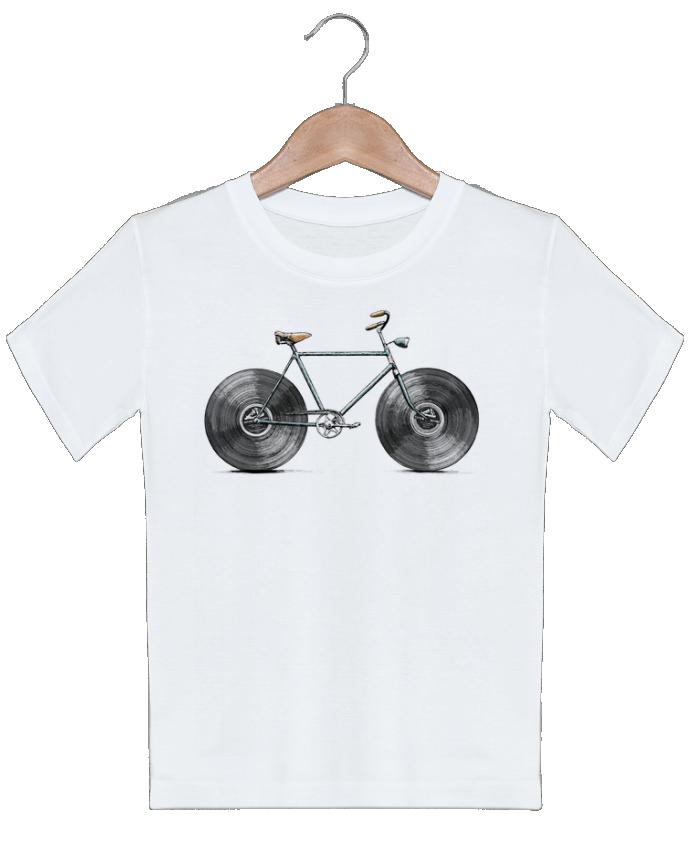 T-shirt garçon motif Velophone Florent Bodart